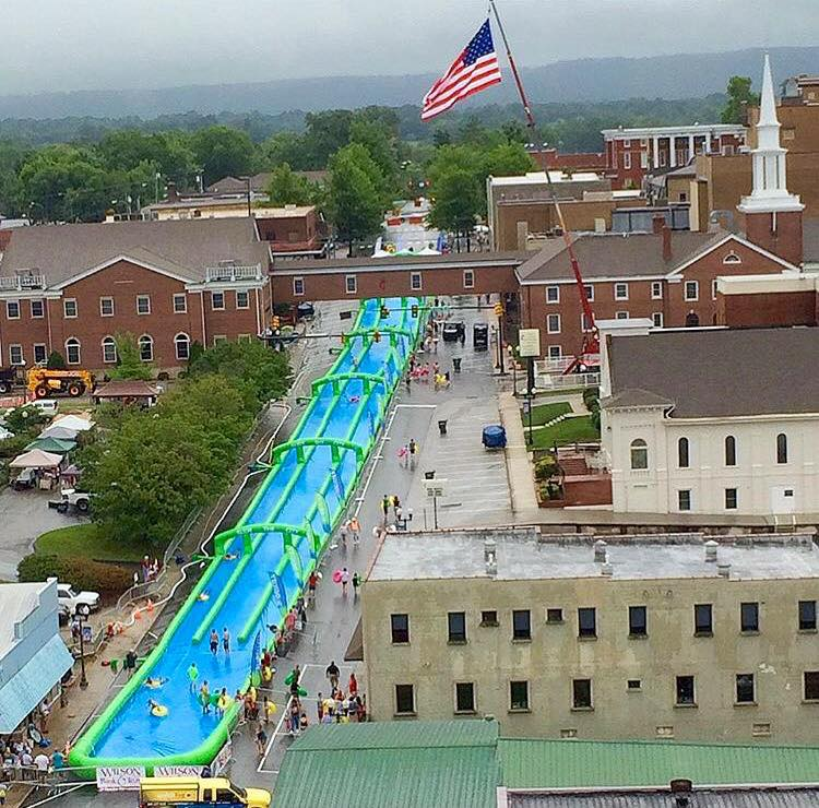 Slide the City for July 4th